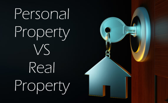 Personal Property VS Real Estate Property