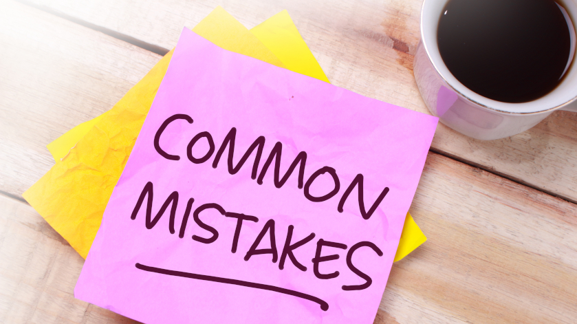 Common Mistakes for New Real Estate Agents